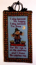He Watches Me cross stitch chart Foxwood Crossings - $7.20