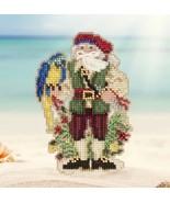 Trinidad 2017 Winter Caribbean Santas cross stitch kit  Mill Hil - $7.20