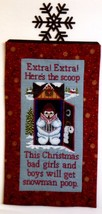 Snowman Poop cross stitch chart Foxwood Crossings - $7.20