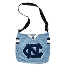 NCAA North Carolina Tar Heels Jersey Purse Big Tote Bag -Shoulder Strap New  - $23.71