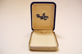 Vintage Royal Avon Jewelry Necklace Presentation Box Velvet and Brocade - $14.99