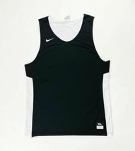Nike Reversible Team Practice Basketball Jersey Men's 2XL Black White 86... - $29.69