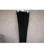 Calvin Klein Dress Slacks 34/30 Black Wool Waist 35 Inseam 29 1/2 PERFECT - $35.50