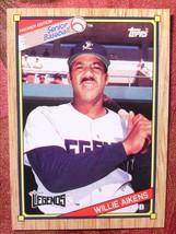 Senior Baseball Topps 1989#57 Willie Aikens - $0.99