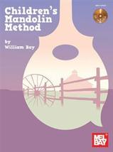 Children's Mandolin Method/Book w/CD Set/New - $7.99
