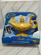 Disney Aladdin Genie Lamp Speaker mp3 aux connection New play your own m... - $20.00