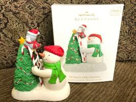 Hallmark Keepsake Ornament We Need A Little Christmas 2010 Magic Sound - $32.73