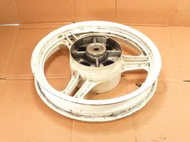 "89 Kawasaki EX500 Rear Wheel Assembly / OEM 16"" X 2.50"" Original Aluminum White - $199.99"