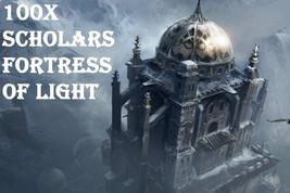 100X 7 SCHOLARS FORTRESS OF LIGHT PROTECT & BANISH BLOCK NEG MAGICK RING... - $99.77
