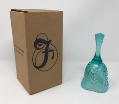 "Fenton Turquoise Blue 6 1/2"" Bell - New With Tags! #9665 T1 - $37.50"