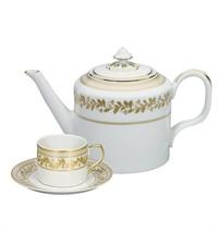 Vista Alegre Portugal Porcelain ANNA TEA SET 15 PIECES PF043443 Brand New - $1,656.85