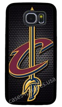 Cleveland Cavs Nba Phone Case For Samsung Note & Galaxy S3 S4 S5 S6 S7 Edge + S8 - $14.88