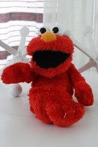 """Sesame St Tickle Elmo Laughing Mechanical Red Plush Stuffed Animal Toy Doll 13"""" - $18.80"""