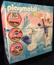 Playmobil Ice Crystal Princess with Fawn 9350 Hologram Effect - $12.62