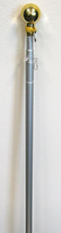 8 Foot Aluminum Silver Pole with (Ball) 8FT Residential Commercial (No B... - $25.88
