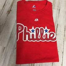 Philadelphia Phillies Majestic MLB Cliff Lee #33 Red 2X Mens T Shirt Baseball  - $12.16