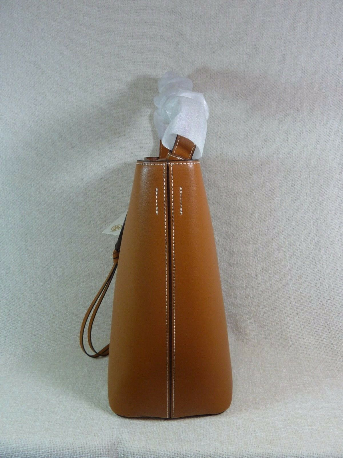 NWT Tory Burch Aged Camello Miller Hobo/Shoulder Tote - Minor Imperfection image 5