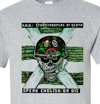 S.O.D. T shirt Stormtroopers of Death 1980's Metal band M.O.D. SOD graphic tee image 1