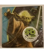 Star Wars Feel The Force 3D Birthday Party Lunch Napkins 16 Per Package New - $4.94