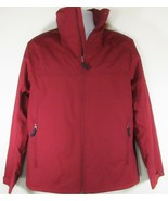 TIMBERLAND A1RZG-M49 MT.CRESCENT MEN'S RED WATERPROOF HOODED JACKET Sz M - $89.99