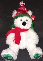 "2006 Ty Classic FARGO the White Holiday Bear Retired MWMT 15"" Snowflake ... - $19.79"