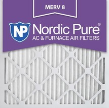 12x12x1 (11_3/4x11_3/4) Pleated MERV 8 Air Filters 6 Pack - $38.28