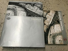 2012 Harley Davidson TOURING Service Repair Manual & Owners Operators Ma... - $247.45