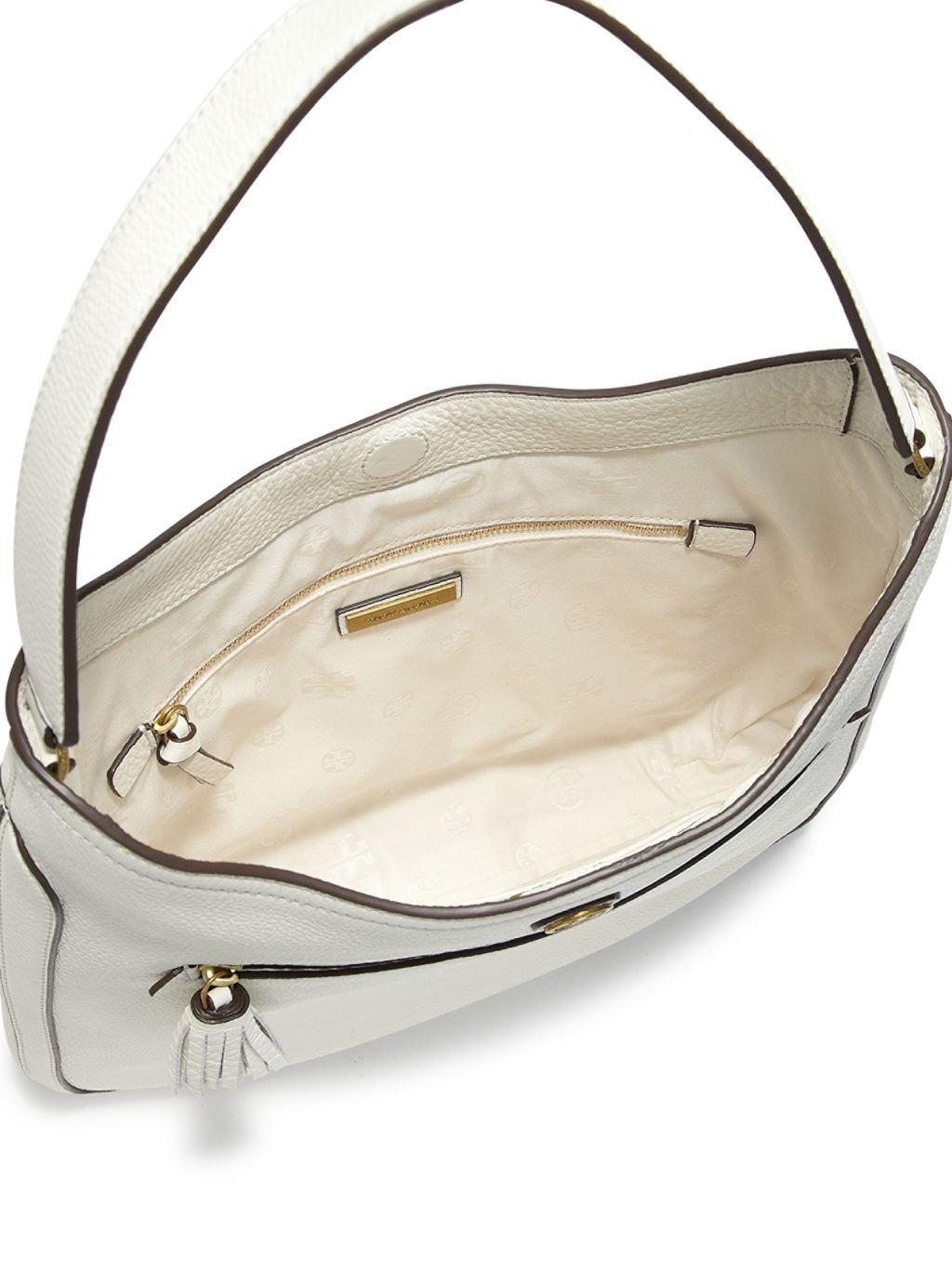Frances Ivory Hobo Bag Satchel Shoulder Handbag