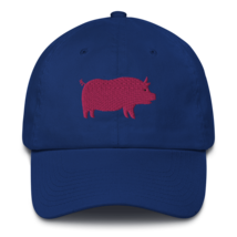 Pro pig hat / pig hat  / made in USA / Cotton Cap image 2