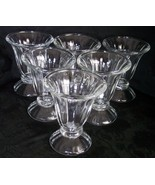 Libbey Tulip Glass Dessert Dishes Bowls Cups Sundae Parfait Berry Ice Cr... - $44.98
