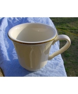 HLC White Cream Coffee Cup Mug Gold Rim Homer L... - $4.00