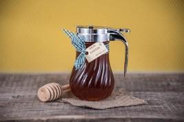 Honey Flower 300gr-11.90oz Meliera Vase as a *GIFT* Greek Honey - New Harvest - $22.06