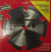 """Vermont American 26950C 7-1/4"""" x 6T Fiber Cement Saw Blade Carded - $5.45"""