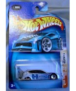 Hot Wheels 2003 Tech Tuners Ford Foucs 5/5 SILVER #104 by Mattel - $16.65