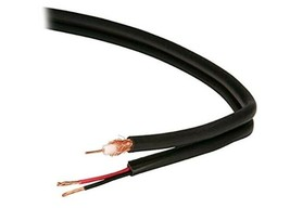 1000' Belden 549945 RG-59/U Cable 20 AWG Copper 75 Ohm w/ Siamese 18 AWG 2C wire - $297.98