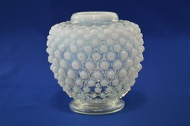 Fenton Hobnail French Opalescent Ginger Jar No Lid #389 - $14.85