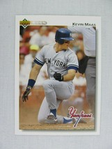 Kevin Maas New York Yankees 1992 Upper Deck Baseball Card 377 - $0.98