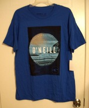 O'Neill Men's Graphic Print Blue Short Sleeve T-Shirt - Periscope - Size... - $16.46