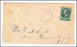 1888 Bakersville, OH Discontinued/Defunct Post Office (DPO) Postal Cover - $9.95