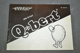 Nintendo NES: Q*Bert [Instruction Book Manual ONLY] - $7.00