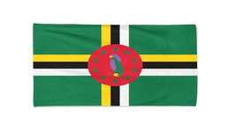 Dominica Flag Beach Towel Swimming Pool Towels Summer Holiday Towels Gym... - $24.99+