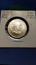 1979-D Susan B Anthony Dollar!!! GEM GEM BU+++ Nice Coin!!! LOOK!!! - $2.59
