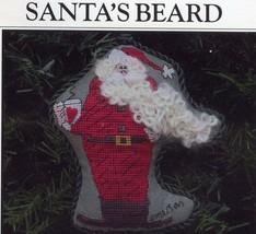 Santa's Beard 1998 Twisted Threads Cross Stitch Kit NIP  - 30 Days To Sh... - $16.17