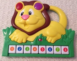 Musical Lion Toy by Manley Toys - 2011, EUC, Music and Lights, Colored Keys - $6.65