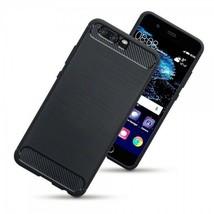 Huawei P10  Impact Resistant Protective Carbon Fibre Design Case Black FIELDS™ - $29.32