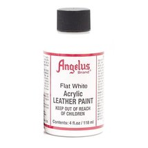 Angelus Leather Paint 4 Oz Flat White - $3.42