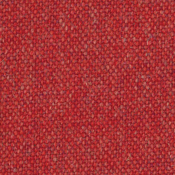 1.5 yds Camira Upholstery Fabric Main Line Flax Aldgate Red MLF01 RL