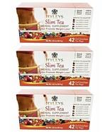 3 x Hyleys Slim Tea Assorted Tea Collection 42 Teabag Weight Loss Tea As... - $29.99