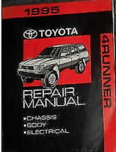 1995 Toyota 4Runner 4 Corredor Servicio Tienda Taller Reparar Manual Volume 2 De - $98.86