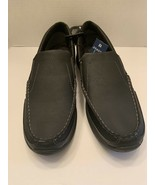 George Men Slip On Loafers Casual Memory Form Pick - Brown Or Black Sz 1... - $19.99